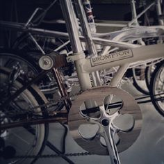 Indonesian wood-decorated Brompton
