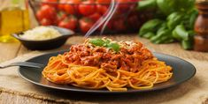 A spaghetti sauce different from what you wear .- A spaghetti sauce different from what you usually do. – Recipes – My Fork Spaghetti Noodles, Cooking Spaghetti, Spaghetti Sauce, Pasta Chips, Grilled Chicken Pasta, Leftover Spaghetti, Pasta Casera, Mushroom Appetizers, Grilled Vegetables
