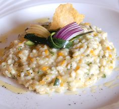 Risotto alle erbe aromatiche e limone Risotto with herbs and lemon