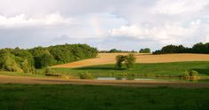 LaTour's east view...Rent our #vacation home in #Gascony, #SWFrance