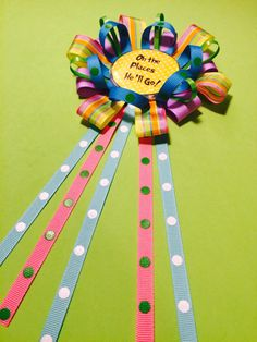 A personal favorite from my Etsy shop https://www.etsy.com/listing/230087038/oh-the-places-youll-go-baby-shower