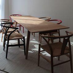 【楽天市場】ダイニングテーブル 木製 北欧 伸縮 天然木 オーク無垢材 伸長式 幅160-240cm テーブルのみ(ダイニング ダイニングテーブル テーブル 木製ダイニングテーブル 北欧 ナチュラル 食卓ダイニングテーブル シンプルダイニングテーブル おしゃれ NRT-EXT-01-160:NORTE