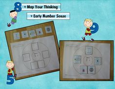 Number Sense Circle Maps - can add this to calendar with # of the day!