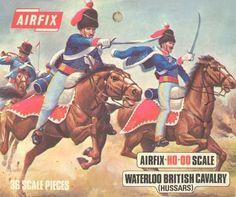 Waterloo British Cavalry