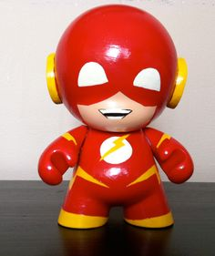 Flash Mini Munny by n3gative-0 on deviantART