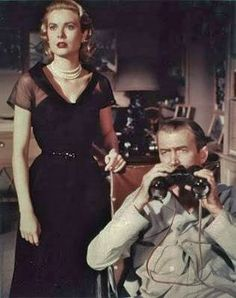 "Hitchcock's ""Rear Window"" with Grace Kelly, James Stewart"