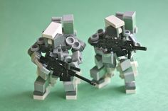 Mini Lego mecha by ¡CoIor!