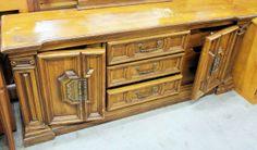 Vintage Greek Columns 70s Dresser  up for custom by VintageRescues, $750.00 Media Cabinets, Columns, Custom Paint, Cant Wait, Restoration, Dresser, Greek, Bedroom, Storage