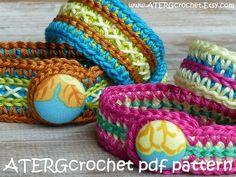 Pdf Häkelanl zwei Armbänder von ATERGcrochet von ATERGcrochet