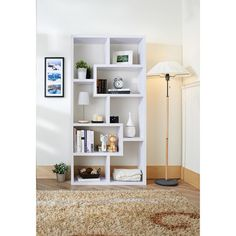 Cooper Bookcase in White