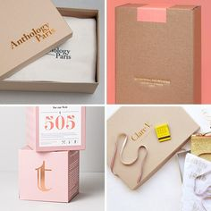 Photos via: Parametro Studio, Studio Plastac, Braeutigam Rotermund, Clare V 90 Ideas to Spruce Up Your Holiday Packaging Design Stitch Lab, Ecommerce Packaging, Holiday List, Shop Fittings, Foil Stamping, Custom Boxes, Packaging Design Inspiration, How To Memorize Things, Studio Studio