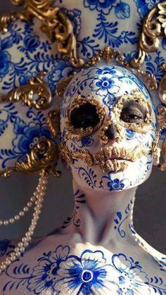 Skull Makeup, Makeup Art, Fantasy Makeup, Fantasy Art, Art Brut, Foto Art, Memento Mori, Dark Beauty, Creative Makeup