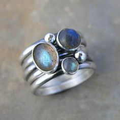 labradorite ring - Google Search
