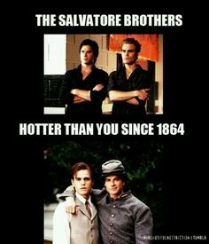 Duh. Hotter than you since forever. Stefan/Paul is way hotter tho