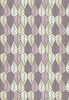 Leaves fabric