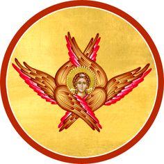 Archangels, Cherub, Byzantine Art, Orthodox Christian Icons, Art, Christian Art, Cherub Tattoo, Art Icon, Order Of Angels