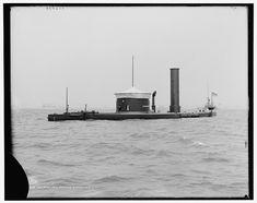 U.S. Civil War monitor Canonicus