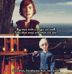 He's got you there, Hiccup! lol XD