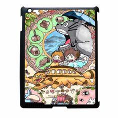 Studio Ghibli Characters iPad 2 Case