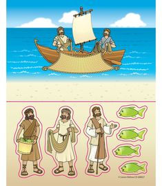 Fishers of Men Stickers
