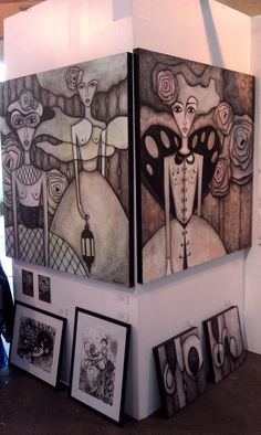 Paintings and drawings by Sandra Mucciardi Artwork Display, Painting & Drawing, Photo Galleries, Sketches, Canvas, Abstract, Drawings, Creative, Artist