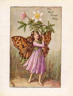 春のフラワーフェアリー〈アネモネの妖精〉 - *Celtic white*magic marche*