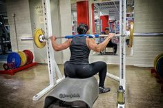 Leg day at the gym