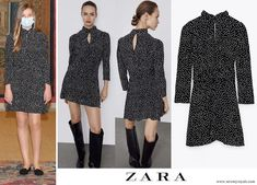 Hugo Boss Top, Private Foundation, Vestidos Zara, Princess Of Spain, Spanish Royalty, Spanish Royal Family, Queen Letizia, Knit Skirt, Zara Dresses