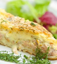Creamy Salmon Pie Recipes - I Love Cooking, How to cook South African recipes Fish Dishes, Seafood Dishes, Fish And Seafood, Main Dishes, South African Dishes, South African Recipes, Fish Recipes, Seafood Recipes, Cooking Recipes