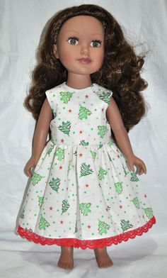 Our Generation American Girl Journey Girl Doll 18 Dolls Clothes Christmas Dress