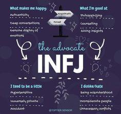 Infj Traits, Infj Mbti, Intj And Infj, Enfj, Rarest Personality Type, Infj Personality, Infj Type, Enneagram 4, Frases