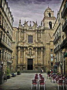 Iglesia de Santa Eufemia  Ourense  Spain