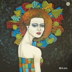 """EL MUNDO DE EVA"" Maria Martha Diez Art"