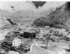 Keystone 1896 Type of coal camp.