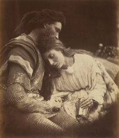 One of my favorite things I ever came across at the MET museum. Julia Margaret Cameron is, arguably, one of the greatest portraitists in the history of photography. This photo is called The Parting of Guinivere and Lancelot, Victorian Photography, Old Photography, History Of Photography, Julia Margaret Cameron Photography, Julia Cameron, Vintage Photographs, Vintage Photos, Old Photos, Antique Photos