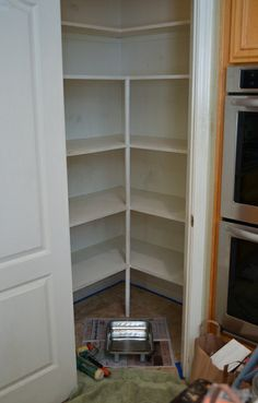 My Pantry Organization Project | From Valerie's Kitchen