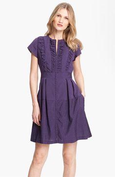 Nanette Lepore 'Pedigree' Stripe Fit & Flare Dress   Nordstrom