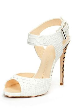 Giuseppe Zanotti - Guiseppe Zanotti Shoes 2012 Spring-Summer - LOOK 20 Manolo Blahnik Heels, Giuseppe Zanotti Heels, Zanotti Shoes, White High Heels, White Shoes, Pretty Shoes, Beautiful Shoes, Ciabatta, Dream Shoes