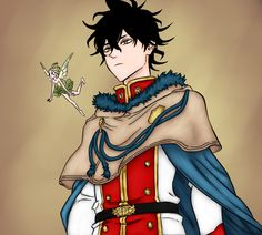 Yuno from Black Clover Anime Naruto, Manga Anime, Anime Boys, Black Clover Wallpaper, Black Clover Anime, Japanese Cartoon, Black Cover, Four Leaf Clover, My Hero Academia Manga