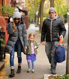 Celeb Diary: Sarah Jessica Parker & Matthew Broderick in New York