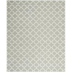 Varick Gallery Wilkin Grey / Ivory Rug Rug Size: 8' x 10'