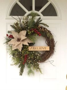 christmas wreath more decoratingideas - Twas The Night Before Christmas Decorating Ideas