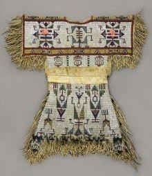 Lakota beaded child's dress