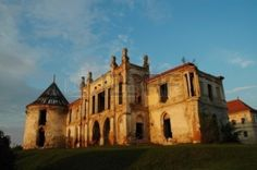 Banffy Castle in Bontida in late afternoon lights, near Cluj Napoca, Romania