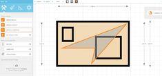 FloorPlanner software draw a surface feature Kitchen Design Software, Interior Design Software, Bar Chart, Surface, House Design, Bar Graphs, Architecture Design, House Plans, Home Design
