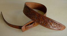 """What do you get when you combine our hand-tooled guitar straps with our """"ladderback"""" style """"Durango"""" model straps?  Our Hand-tooled Durango model guitar straps, naturally!  Find out more about our Hand-tooled Durango model straps here: http://eldoradostraps.com/product/durango-model-leather-guitar-straps/durango-hand-tooled-leather-guitar-strap/"""
