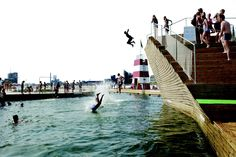 I spent a summer swimming in this harbor bath aand I will someday do it again.  I miss Copenhagen.