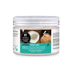 Telový peeling z kokosového mlieka, minerálov z Mŕtveho mora a arganového oleja Dog Bowls