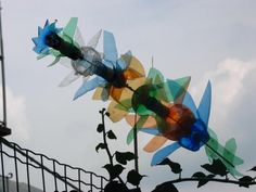 Plastic Bottle Windmill, Rosazza, Biella, Italia