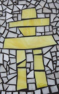 Yellow Inukshuk